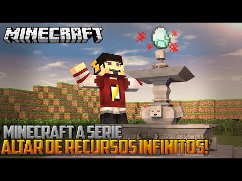 Minecraft: A Serie 2 - ALTAR DE RECURSOS INFINITOS! ‹ 24 / AMENIC ›