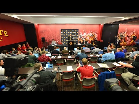 Iowa State Introduces Matt Campbell as Head Football Coach