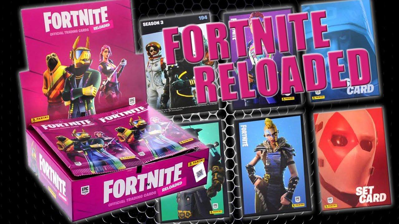 Fortnite 2 Reloaded Trading Cards 1 Starter 1 Display 18 Booster
