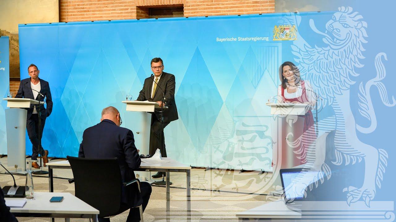 Video in Gebärdensprache: Pressekonferenz zur Corona-Pandemie und Agrar-Ökologie(07.07.2020)- Bayern