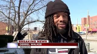 Police chase ends in crash on Detroit