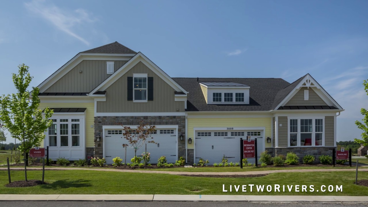 new homes at the villages at two rivers in odenton md youtube