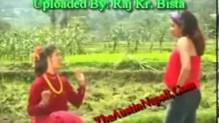 Latest Nepali Comedy Teej Song 2011 By Bishnu Majhi   Raju Pariyar   YouTube