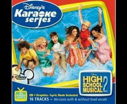 High School Musical 2 - Gotta Go My Own Way Instru