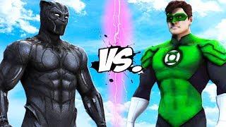 BLACK PANTHER VS GREEN LANTERN - Marvel vs DC
