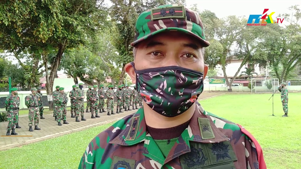 Puluhan Pasukan Kodim Diterjunkan ke Konawe Kepulauan