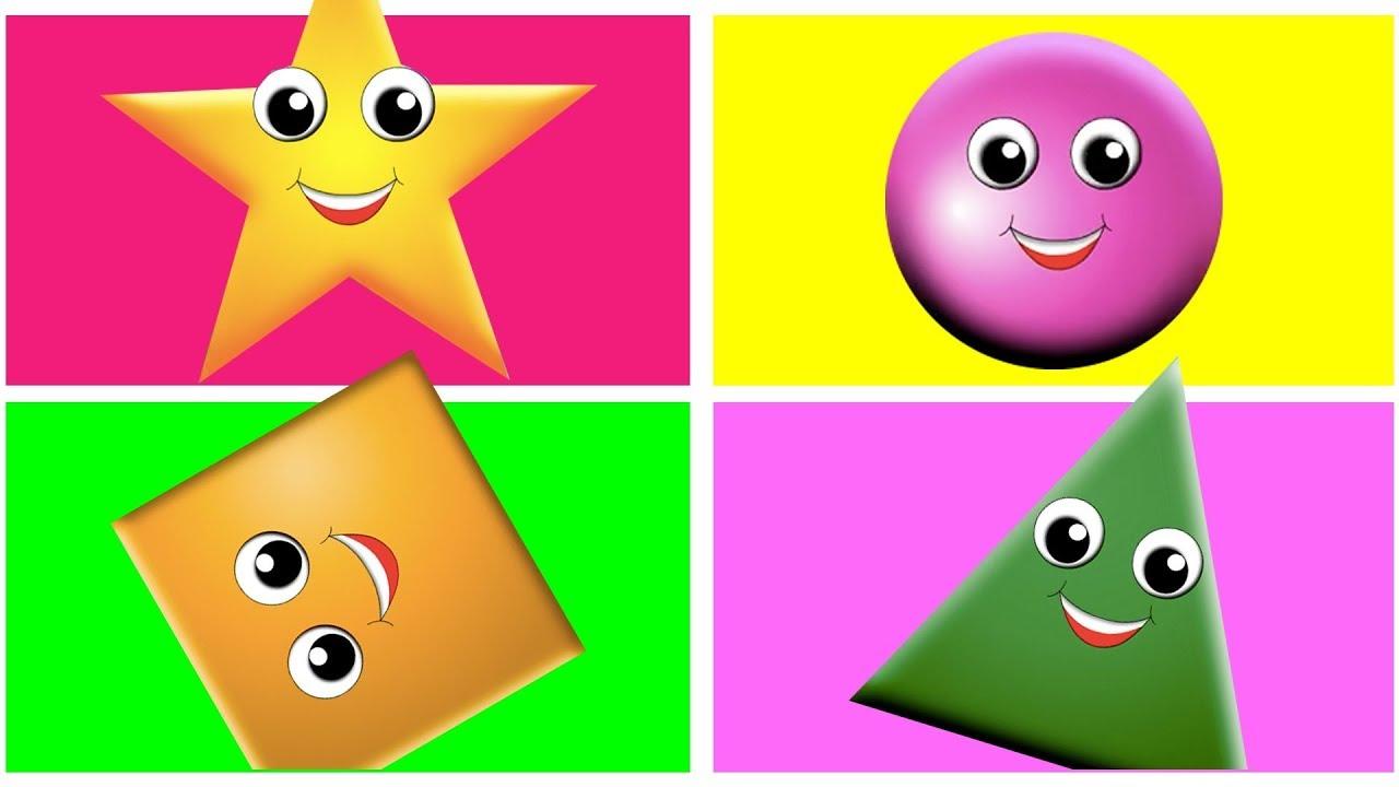 لعبة الاشكال الجديده مع سلموتي | مربع دائرة مثلث مستطيل معين بدون موسيقي للاطفال - YouTube