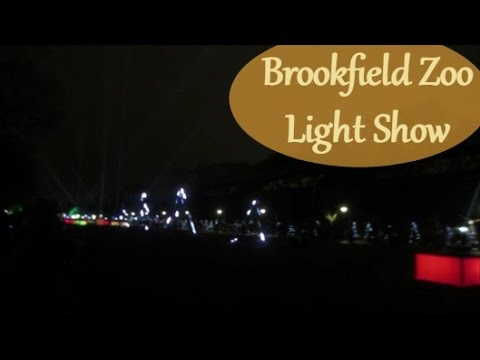 Brookfield Zoo Light Show ~ Vlog 12/12/15