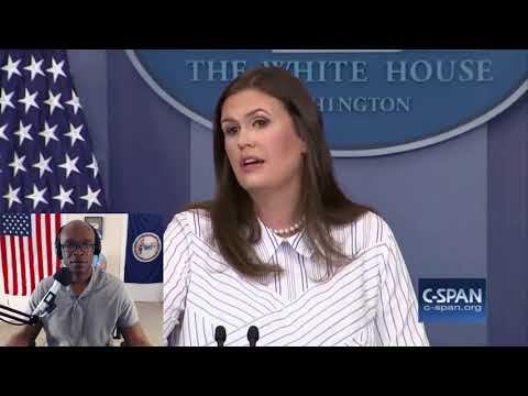 Sarah Huckabee Sanders Wrecks Hillary Clinton In Front of White House Press Corps (REACTION)
