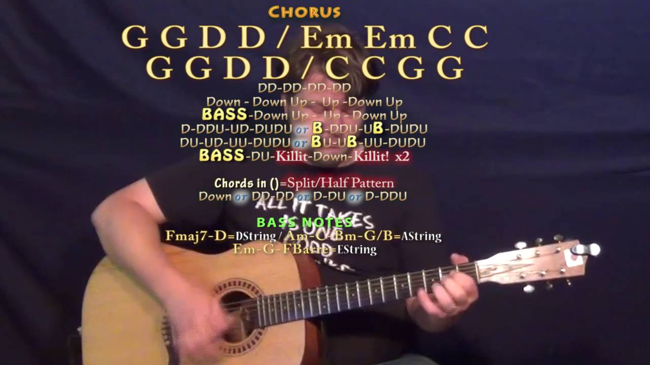 Forever Country Artists Of Then Now Forever Guitar Lesson Chord