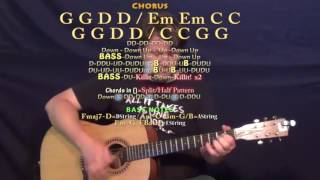 Forever Country (Artists of Then, Now & Forever) Guitar Lesson Chord Chart