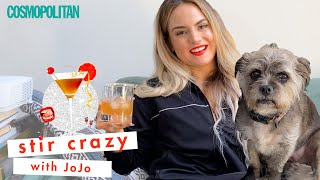 JoJo Sings and Mixes a Hennessy Cocktail Like a Boss | Stir Crazy | Cosmopolitan