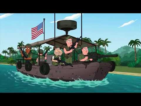 Family Guy - The incessant use of
