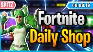 'SPITZER' SKIN ' RARE PICKAXE IN SHOP - Fortnite Daily Shop (6 juin 2019)