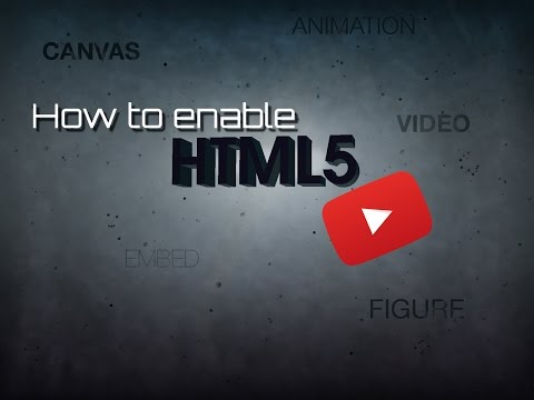 How To Enable HTML5 For Youtube - TechHelp