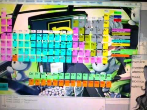 uso de mi tabla periodica - Tabla Periodica En Visual Basic