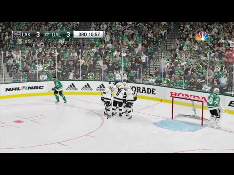 NHL 19 - Los Angeles Kings Vs Dallas Stars Gameplay - NHL Season Match Oct 23, 2018
