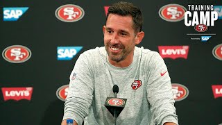 Kyle Shanahan Previews the Joint Practice Sessions in Denver