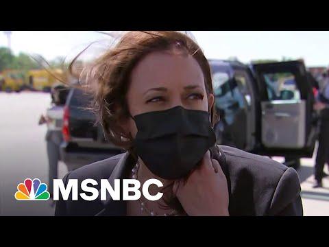 Harris Speaks On U.S. Restricting Travel To India   MSNBC