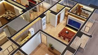 來必富建築模型 室內模型代工製作