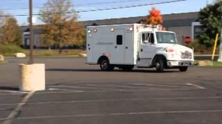 freightliner fl50 medium duty ambulance