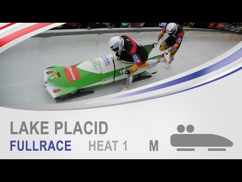Lake Placid | 2-Man Bobsleigh Heat 1 World Cup Tour 2014/2015 | FIBT Official