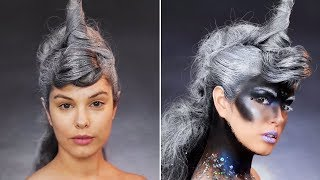 You Dont Need A Wig To Elevate Your Halloween Costume | DIY Makeup Ideas & Beauty Tips