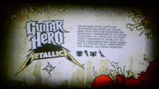 Guitar Hero Metallica (Demo) Gameplay - Sad But True 99% Medium