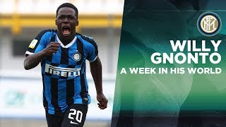 WILLY GNONTO: A WEEK IN HIS WORLD | INTER YOUTH SECTOR 🇮🇹⚫🔵