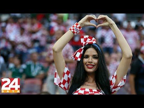 Najzgodnija navijačica Ivana Knoll plesala na hit 'Odjebando' | 24 pitanja