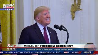 FULL: President Trump Medal of Freedom ceremony at the White House
