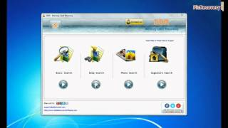 Compact flash card data recovery using DDR Memory Card Recovery Software