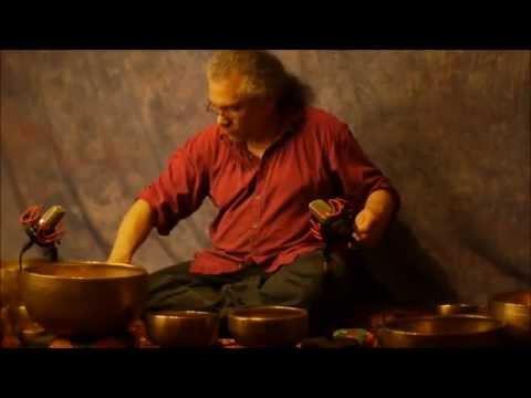 10 min Chakra Meditation Series~Note D~2nd~Sacral Chakra with Tibetan Bowls~No Vocals