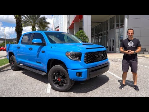 Is the updated 2019 Toyota Tundra TRD Pro the BEST off road truck?