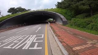 [ #따릉이 라이딩 ] #서울자전거 : 남산도서관 입구…