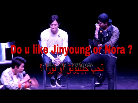 [GOT7 Arabic & Eng sub] for JB: Jinyoung or Nora?