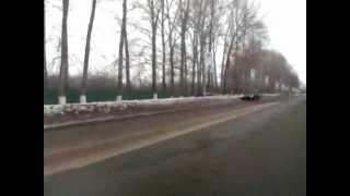 Авария 14.02.2012 Димитровградско е шоссе  г.Ульяновск.mp4