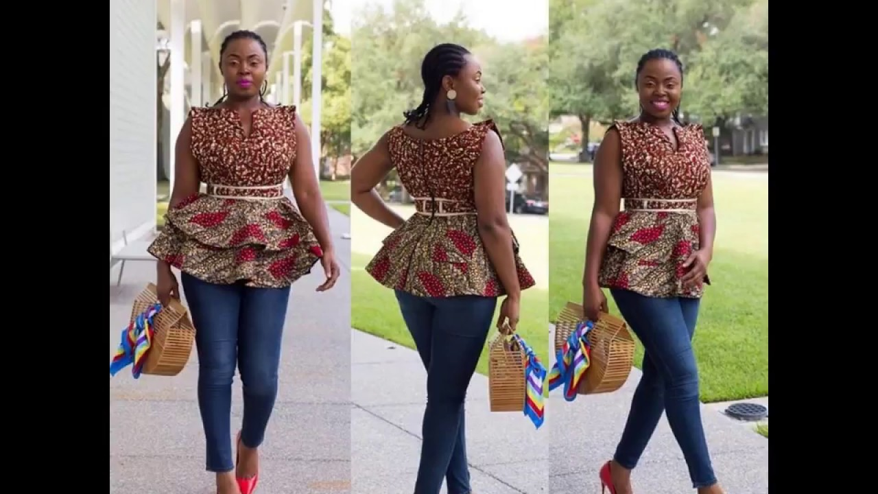 Sizzling Ankara Tops Styles 2018 For Trendy And