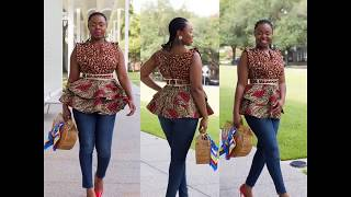 Sizzling Ankara Tops Styles 2018 For Trendy and Fashionable Women