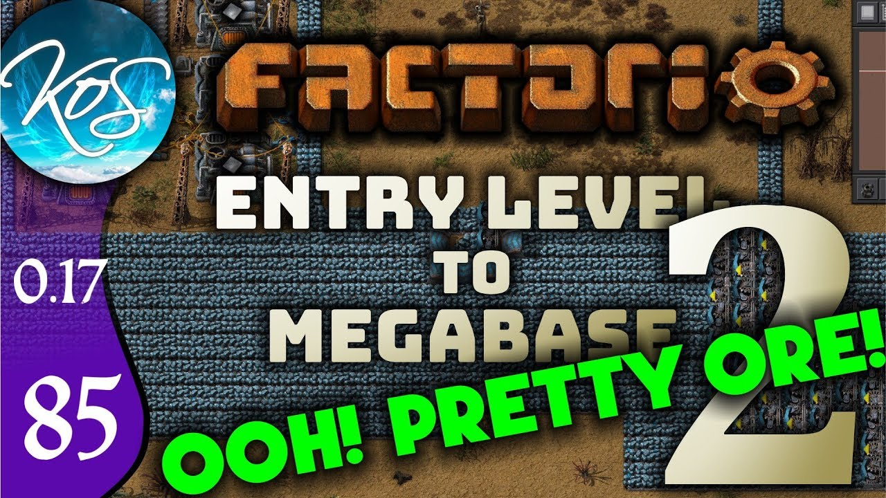 Factorio 0 17 Ep 85: GL-ORE-IOUS ORE - Entry Level to Megabase 2 - Tutorial  Let's Play, Gameplay