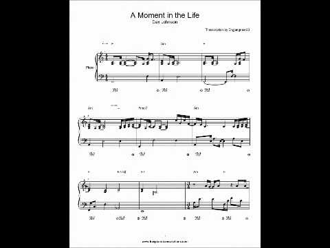 A Moment in the Life COMPLETE Dax Johnson Piano sheet music