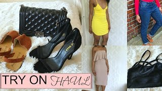 SUMMER TRY ON HAUL | MISSGUIDED, PRETTYLITTLETHING, ALIEXPRESS, GARAGE SHOES, TKMAX