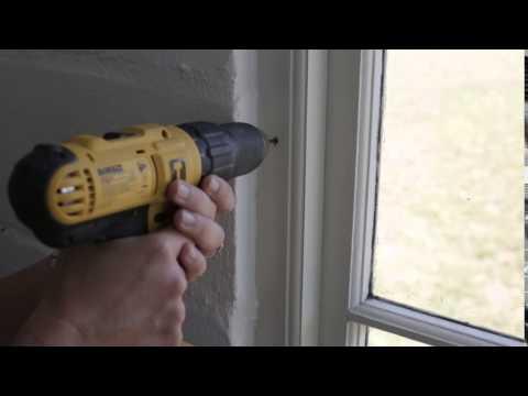 Builders DIY: How to install clear burglar bars