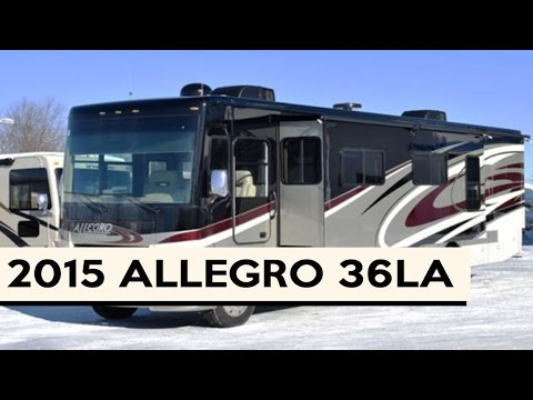 How it Works 2015 Tiffin Allegro 36LA Class A Gas Motorhome - YouTube