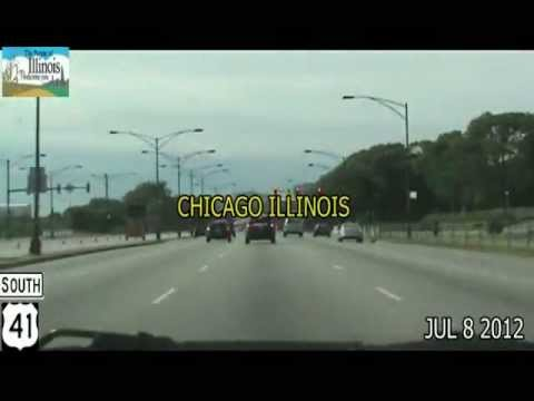 Chicago IL to Milwaukee WI Time Lapse Drive