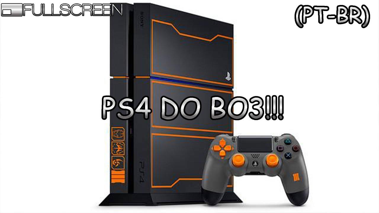 cab483c677 Edição Limitada de PS4 com Call of Duty  Black Ops III - YouTube