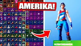 Fortnite Rare America Skin Account get from ZUSCHAUER! - Fortnite Battle Royale English
