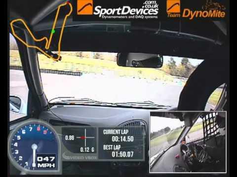 SaxMax - Croft 2013 Race 2- Martin Poole