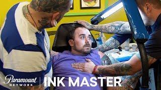 Color Realistic Battle Scene: Elimination Tattoo   Ink Master: Shop Wars (Season 9)