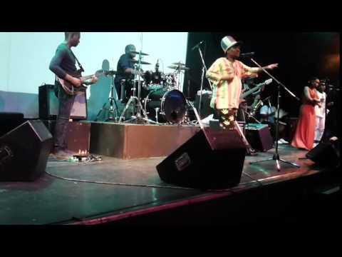 Rastaman nkhushu.live at state thearter pretoria.singing katiba yeo ke ya mang